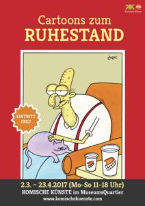 Cartoons zum Ruhestand