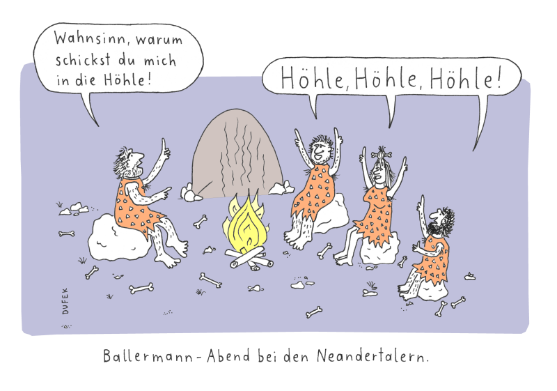Ballermann Abend bei den Neandertalern