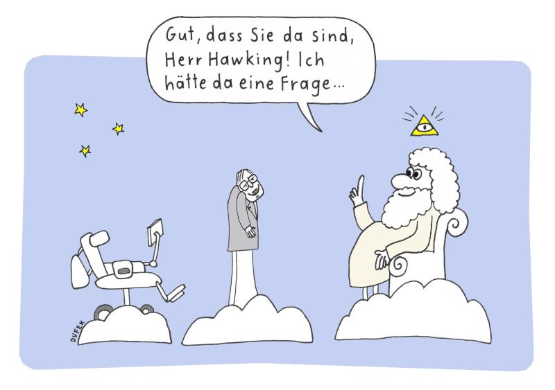 Hawking und Gott