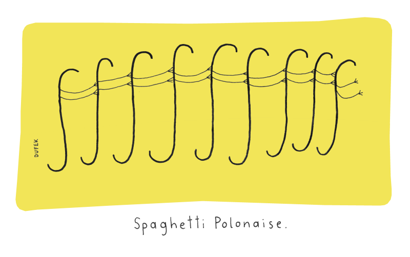 Spaghetti Polonaise