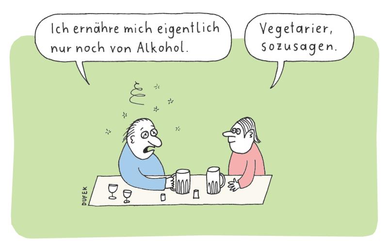 Alkohol Vegetarier