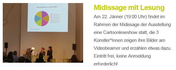 Cartoons von 2019 Midissage