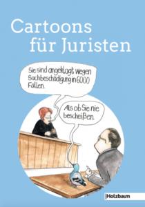 Buch Cartoons für Juristen