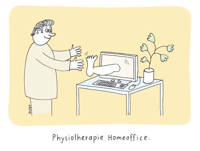 Physiotherapie Homeoffice