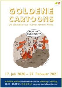 Ausstellung Goldene Cartoons