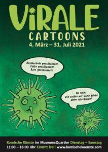 Ausstellung Virale Cartoons